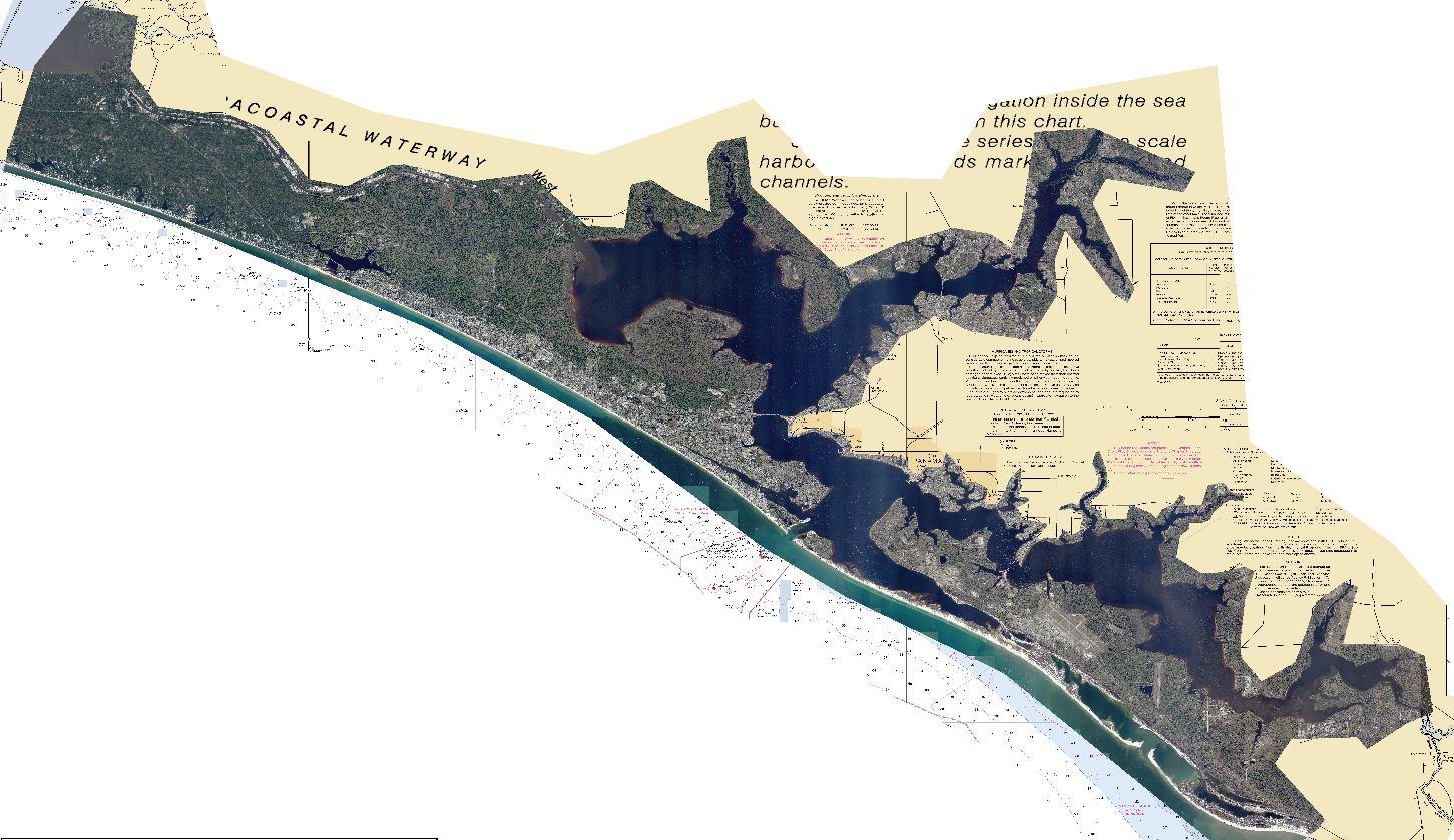4k Panama City Florida Inshore Strikelines Fishing Charts